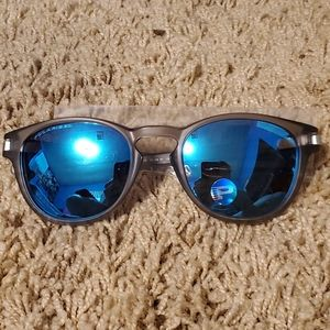 Oakley Polarized Latch OO9265-08 Sunglasses Blue